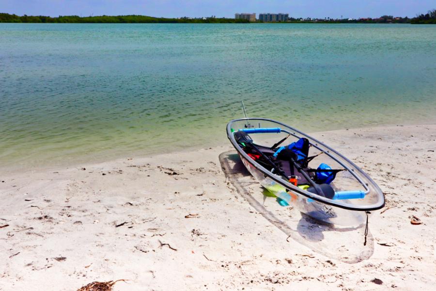 Clear Kayak facing Tampa Bay_Marcea Cazel