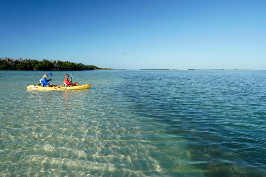 Marvin Key Kayakers Florida Keys 1