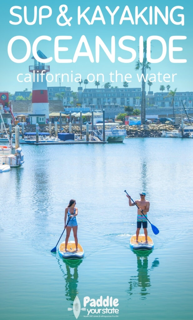 Oceanside, California is an ideal destination for SUP and kayaking. With a calm harbor and moonlight kayaking available, it's a unique California paddling destination.