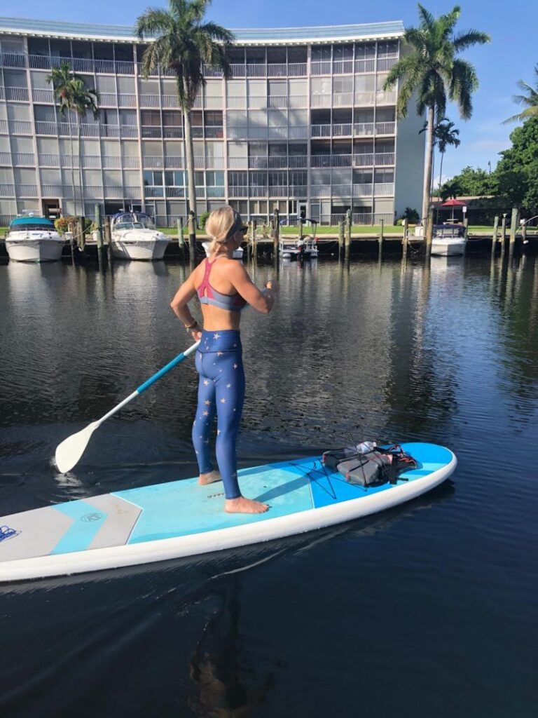 SUP Meditation Paddling Deerfield Beach Florida Soul Garden Yoga 2020 1