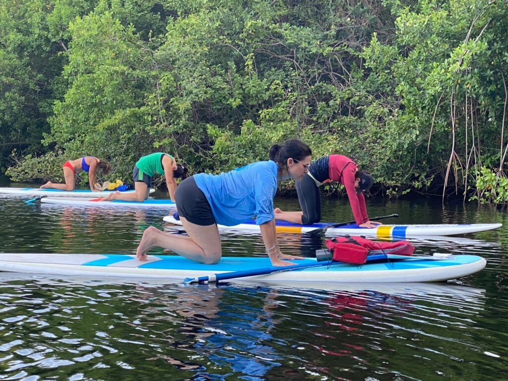 SUP Meditation Paddling Deerfield Beach Florida Soul Garden Yoga 2020 3