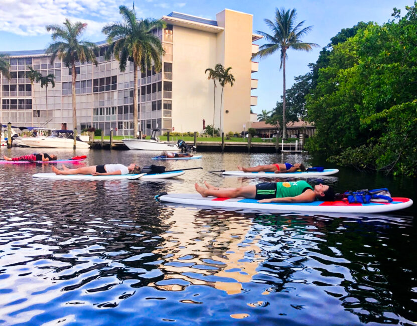 SUP Meditation Paddling Deerfield Beach Florida Soul Garden Yoga 2020 4