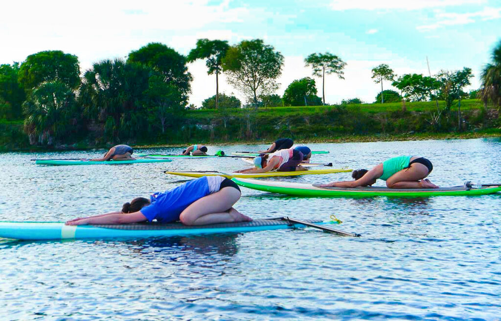 SUP Yoga Deerfield Beach Florida - Heather Berg - Sould Garden Yoga 4