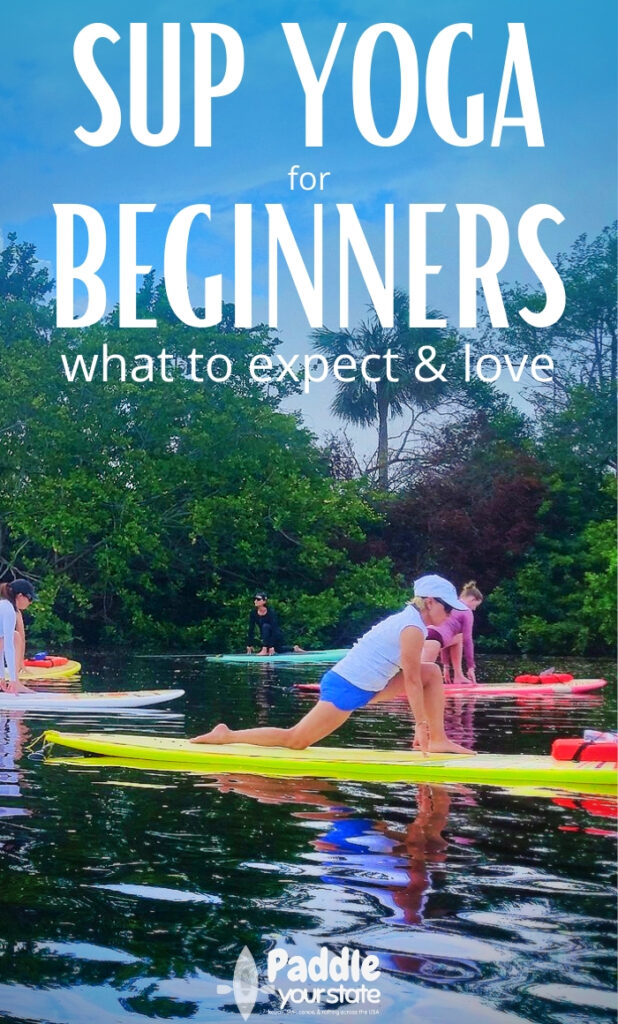 Everyone must start somewhere. SUP Yoga for beginners is all about calm, finding your balance and getting comfortable on your board. Discover the benefits of SUP Yoga and find a new favorite way to experince being on the water.