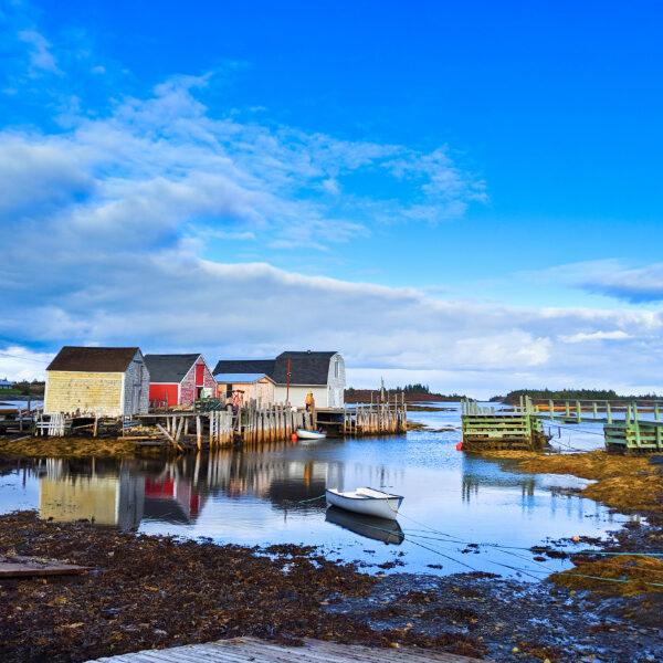 Cove in Blue Rocks South Shore Nova Scotia 2