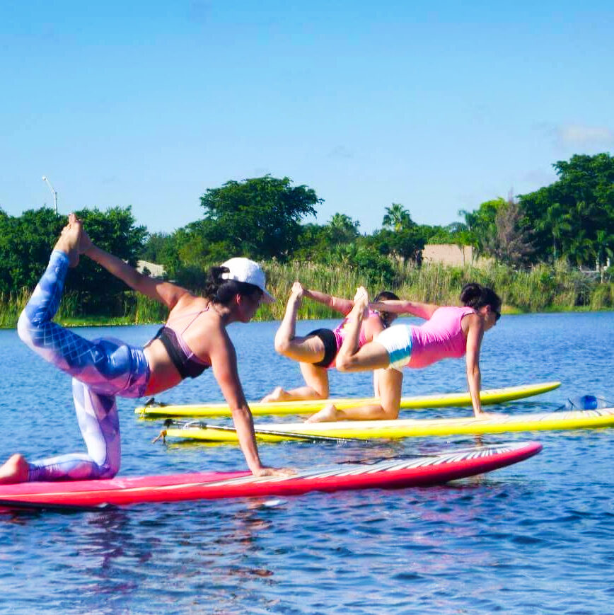 SUP Yoga Deerfield Beach Florida - Heather Berg - Sould Garden Yoga 3