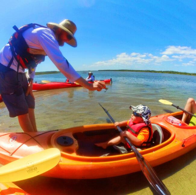 Guided Kayaking with Ripple Effect EcoTours Marineland Florida